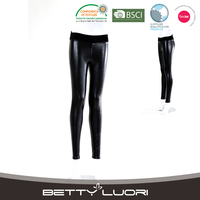 2016 Hot Selling hot girls sexy leather leggings