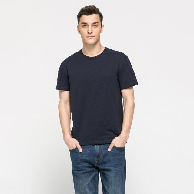 Wholesale plain blank mans t-shirts manufacture