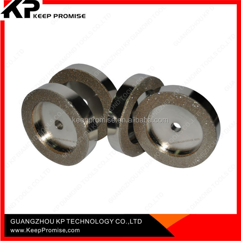 Made in China high efficiency diamond & CBN electroplated diamond grinding wheel for tile