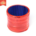 JL-232J-3 Custom Plastic 3 Parts Acryltc Herb Grinder Wholesale