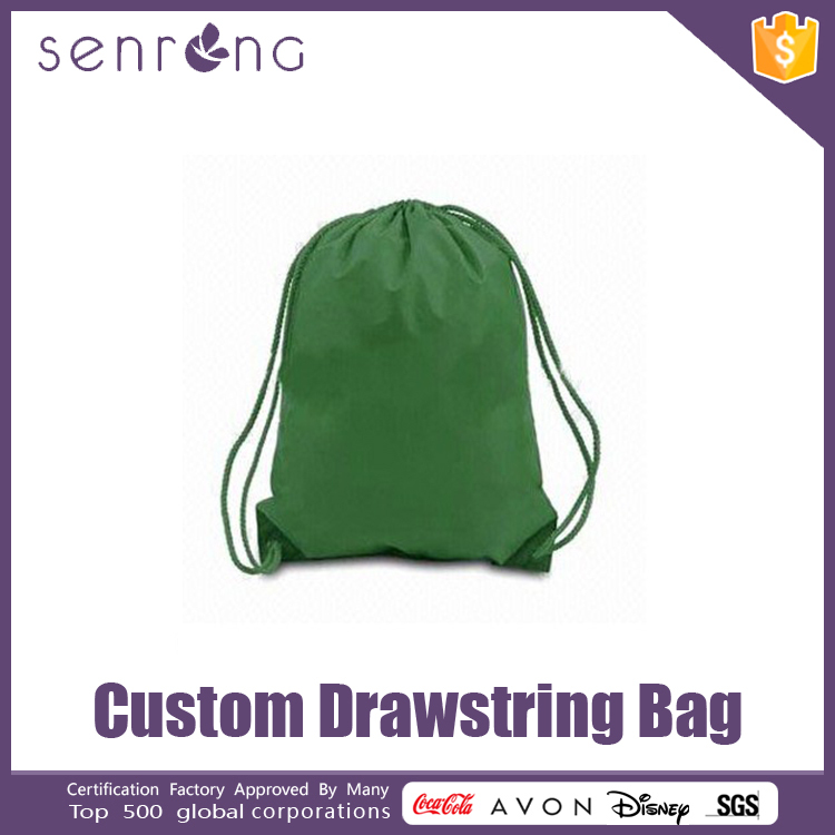 Clear Pvc Drawstring Bag Cotton Embroidered Drawstring Bags
