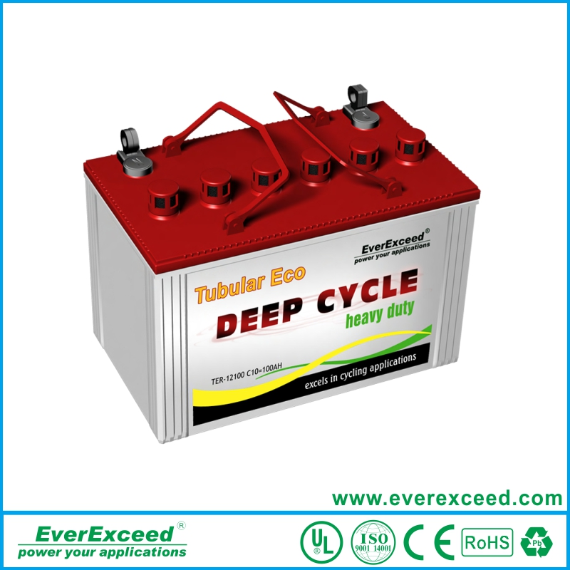 Factory Direct sell flooded Tubular OPzS TER acid lead battery