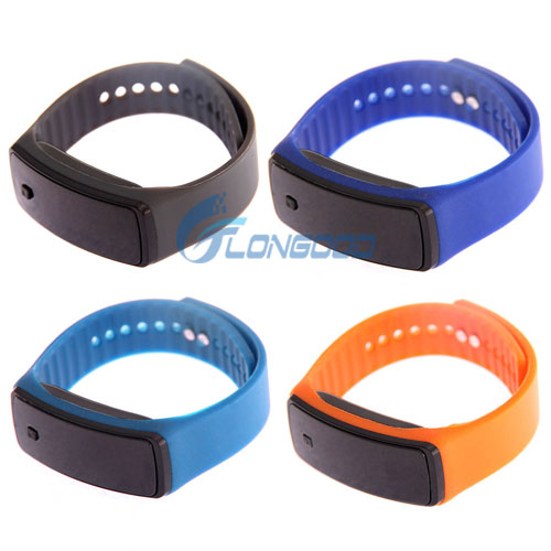 Wholesale colorful brand new automatically smart waterproof silicone LED light up watches