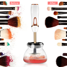 Cosmetic Spinning Makeup Brush Cleaners Makeup Brush Cleaner and Dryer Device Electric Cosmetic Makeup Brushes Cleaner