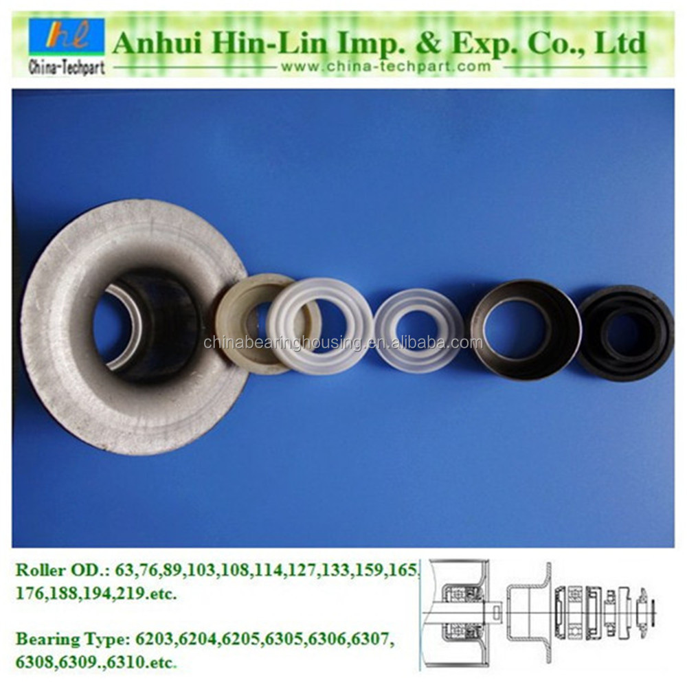 roller bearing housing/seat/stand/base TK6204-102 for 102mm pipe
