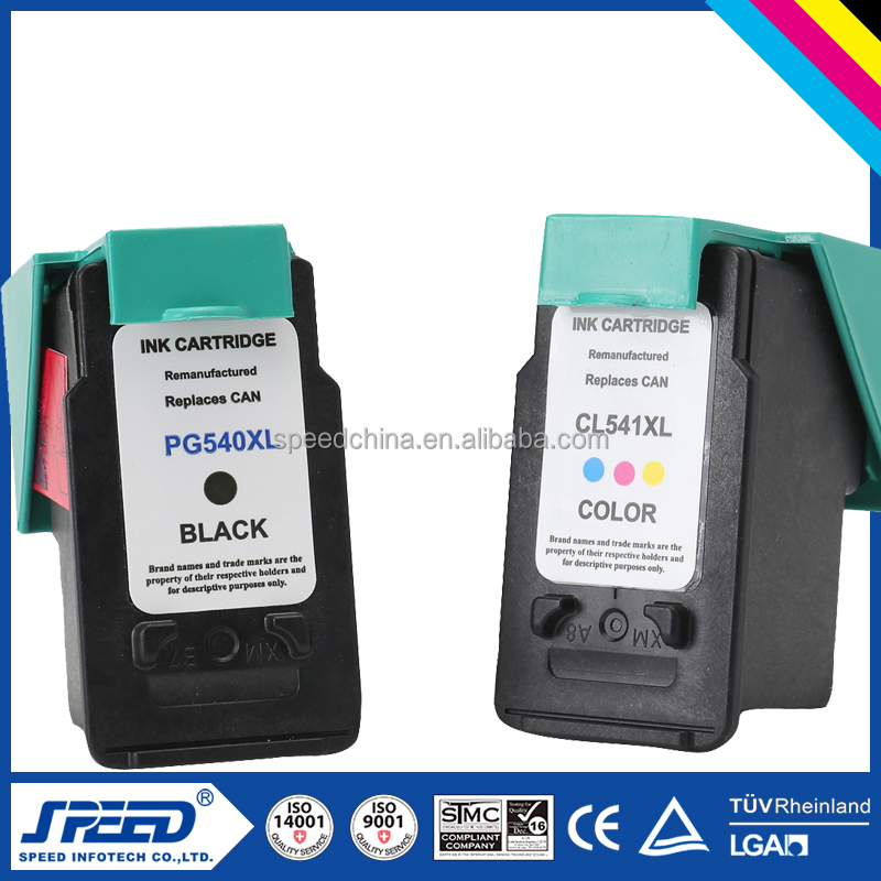 Best price compatible ink cartridge pg540 cl541for canon printer