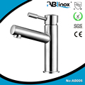 High quality 316 304 stainless steel bathroom basin faucet, cold and hot water washbasin faucet