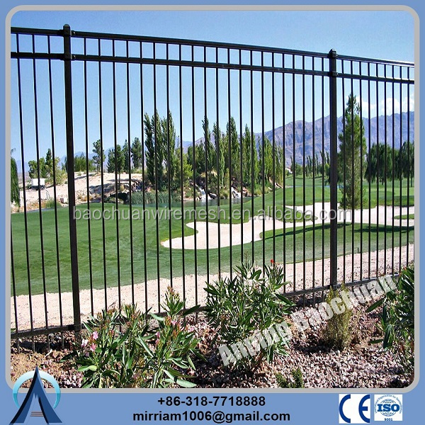 Factory PVC Coated Galvanized Steel Metal Industrial Safety Fence