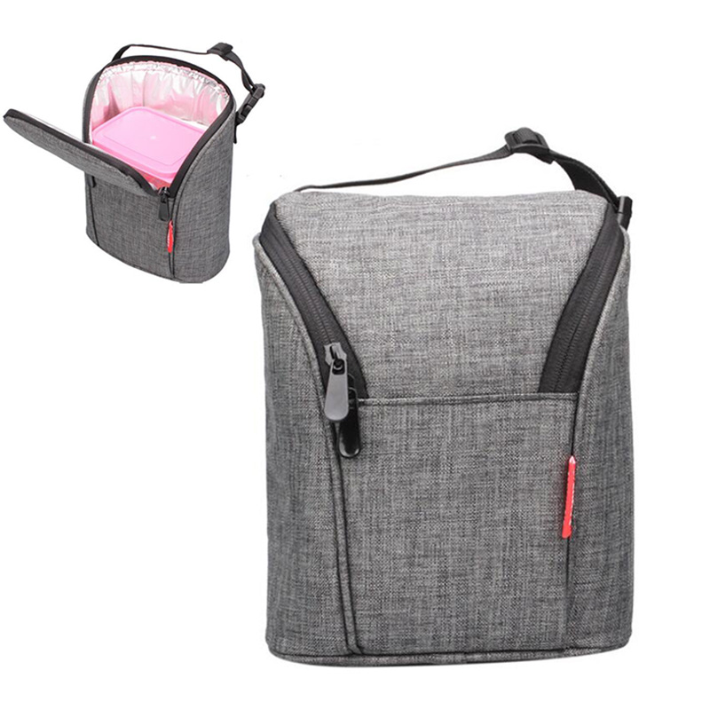 Insulated Lunch Bag Medium Adult Lunch Box Cooler Tote Bag For Men Women Kids US