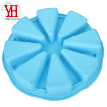 Wholesale Popular Watermelon Shape Silicone Cake Mold