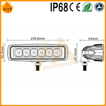 Top quality led driving light led work lamp waterproof spot 15w led work light bar