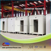Four sides aluminium galss container house
