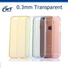 Ultra Thin transparent Exact Fit NO Bulkiness Soft Case for iphone6s