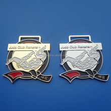 Judo club renens gold silver metal medal prize