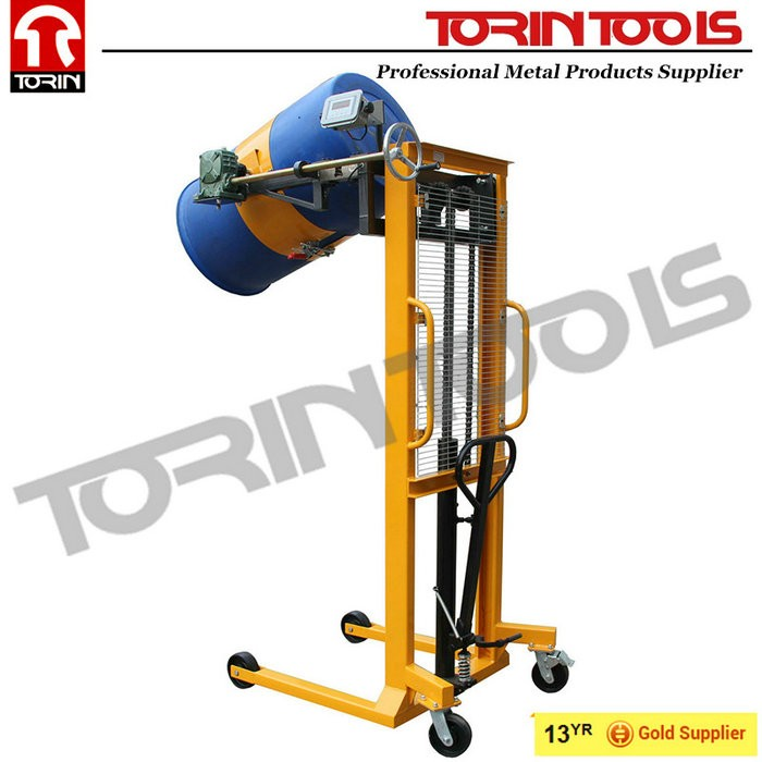 CE Portable Various Hydraulic Vertical Manual Drum Lifter