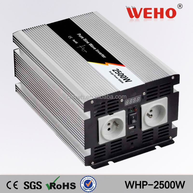 NEW technology! 2500w 48v 110v pure sine wave ever solar inverter