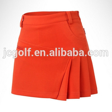 2016 New Spring and Summer Golf Skirts Ladies Anti Emptied Fashion Sportswear Shorts Casual golf pleated skirt
