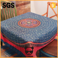 Quick Dry Transfer Printing Polyester Peach Skin Fabric Tablecloth Roll,Linen Tablecloth Can Be Customized