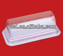 clear plastic clamshell food containers