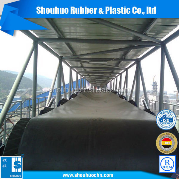 medium oil resistant rubber conveyor belt