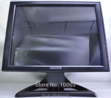 new stock OEM cheap 15 Inch VGA DVI inpu TFT LCD USB power touch screen Monitor