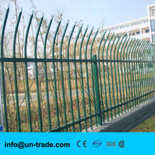 Sectional garden fence