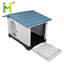 Waterproof plastic outdoor vari igloo designs animal pet dog cages carriers houses kennel flooring with awning