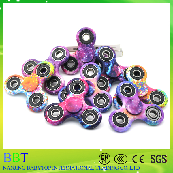 2017 Printing Design Crazy Fidget Toy Digit Fight Spinner