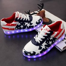 Casual Shoes For 2017 New Design led shoe light with usb cable
