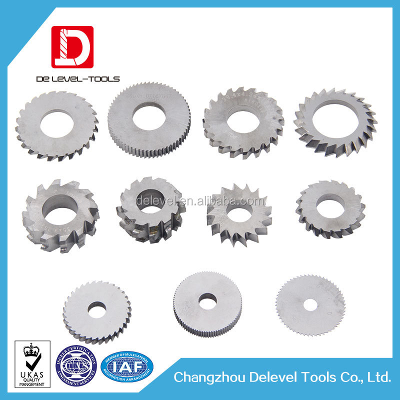Delevel Tungsten Carbide Saw Blade For Steel Cutting
