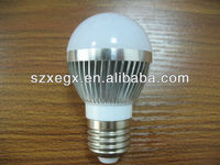 hot sales color high lumen low cost 3w led bulb light
