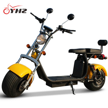 Hot products EEC/COC approved two batteries long range 2 wheel adult electric scooter city coco 2018