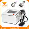 Portable Cavitation RF Vacuum Multi Functional Beauty Equipment