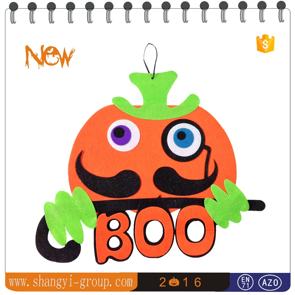 (HW7-07)Artificial Halloween pumpkin decorations