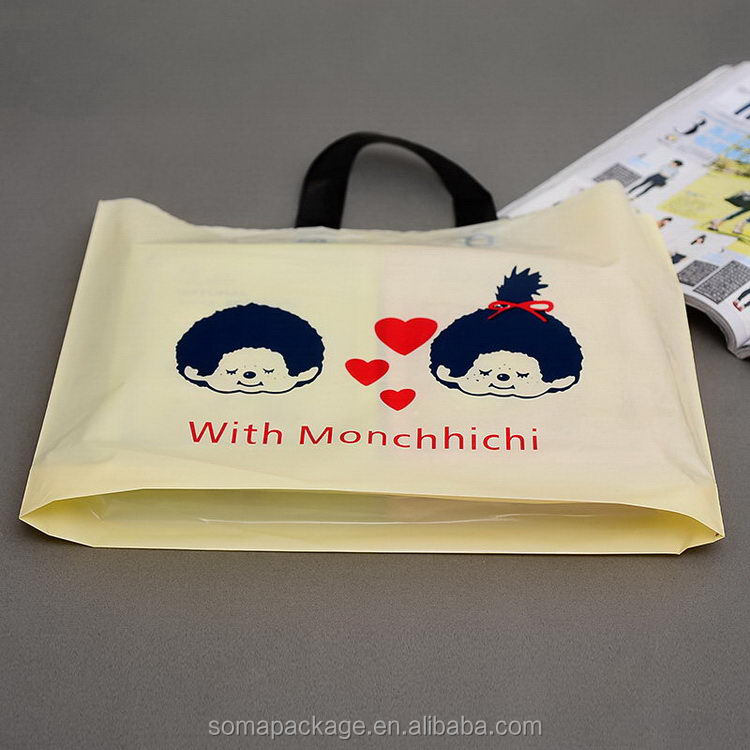 Attractive and durable newly design twist plastic bags