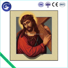 Decoration Factory wholesale religious custom lenticular printing 3d pictures of jesus christ