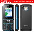 ADMET A600 Low Price Mobile Phone with Lanyard Dual SIM Card 1.77 Inch TFT Screen FM Loudspeaker Dual LED Torch