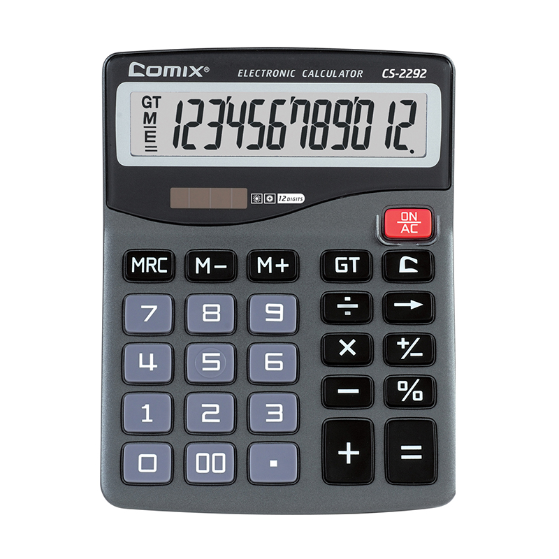 hot selling 12 digit small size desktop digital calculator