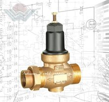 Lead-Free Bronze Water Pressure Reducing Valve PRV with Integral By-Pass Check Valve and Strainer