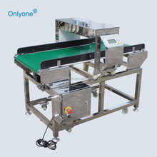 Food Industry Auto Conveyor Belt Metal Detector made in china