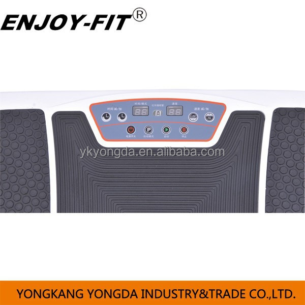 2015 new design 3D vibration plate two motor crazy fit massage body slimmer