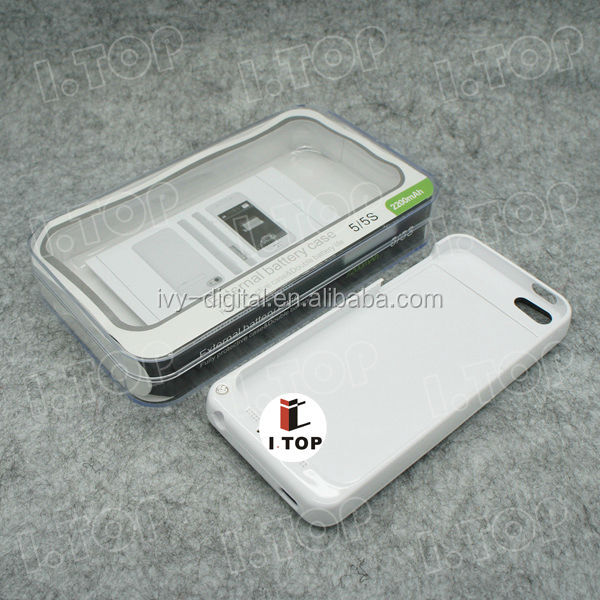 2200mah power case For iphone 5 with cheap price