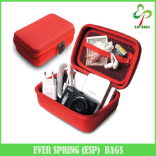 Wholesale anti-shock eva cosmetic case, roomy beauty cosmetic bags and cases, practical travel cabe organizer