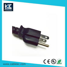 125V 10A 3pin nema 1-15p piggy back plug