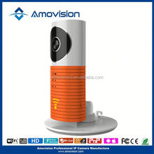 P2P Wifi H.264 720P mini indoor Night Vision network 3G wireless P2P IP Camera Amovision