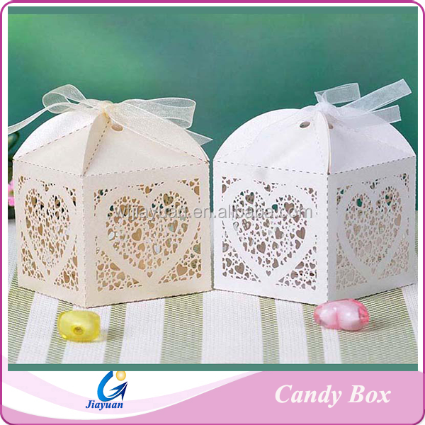Buy Wedding Gift Box : Wedding Gift Favors Candy Box And Hollow Out Chocolate BoxBuy Candy ...