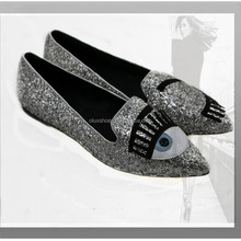 2015 glitter flat casual shoes