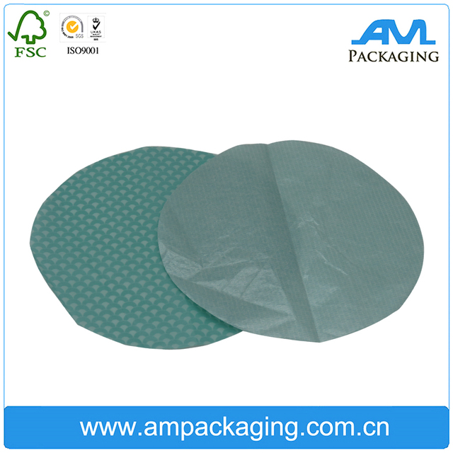 custom color printing grease resistant waxproof waterproof for soap wrapping gift paper