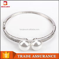 White Gold Plated Adjustable CZ Crystal cross thread bangles image 925 silver gemstone ladies bracelet jewelry