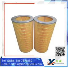 hepa filter cellulose air filter cartridge for air filters